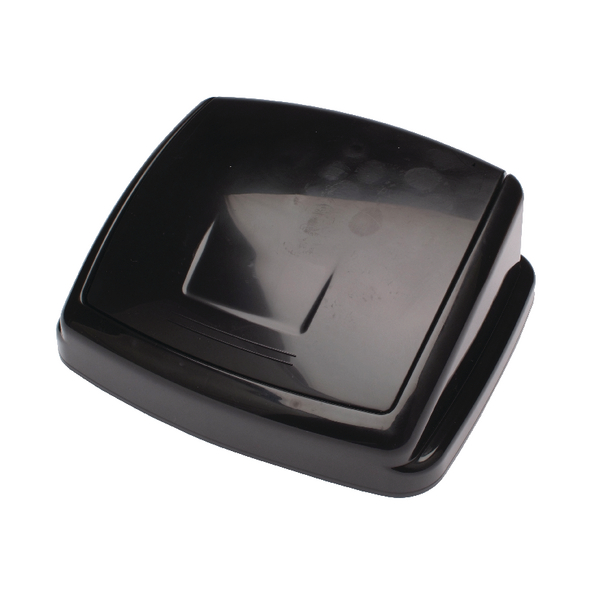 2Work Black 50L Swing Bin Top Only 50llid H10L26LVW