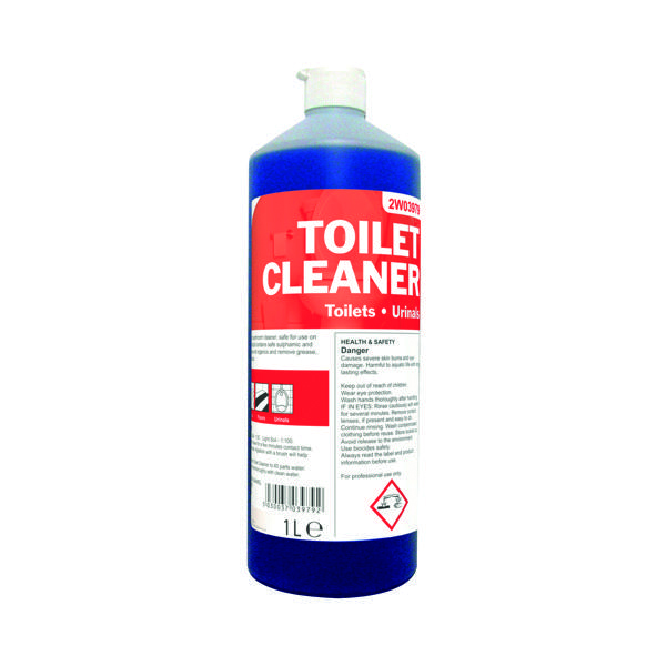 2Work Daily Use Perfumed Toilet Cleaner 1 Litre (12 Pack) 2W04577