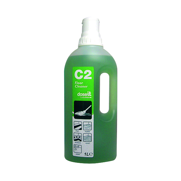 DoseIT C2 Floor Cleaner 1 Litre (8 Pack) 2W06307