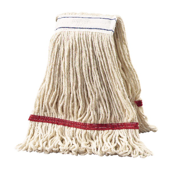 2Work 340g Multi Kentucky Mop Red (5 Pack) KDRE3405I