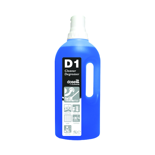 Dose It D1 Cleaner and Degreaser 1 Litre (8 Pack) 325