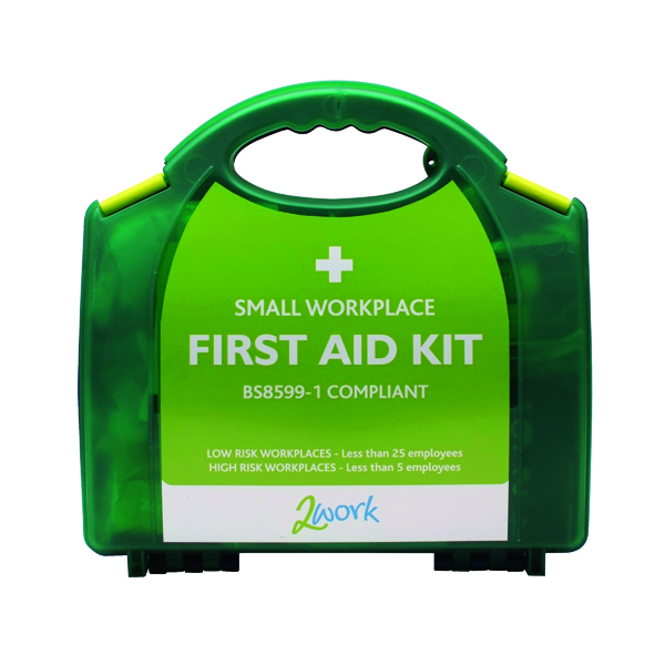 2Work Small BSI First Aid Kit