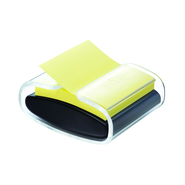 Post-It Pro Z-Note Dispenser Black PRO-B-1SSCY-R330