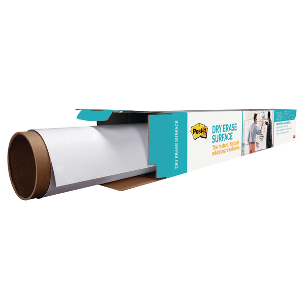 Post-it Super Sticky Dry Erase Film Roll 1219x2438mm White DEF8X4-EU