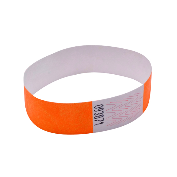 Announce Wrist Bands 19mm Orange (1000 Pack) AA01836