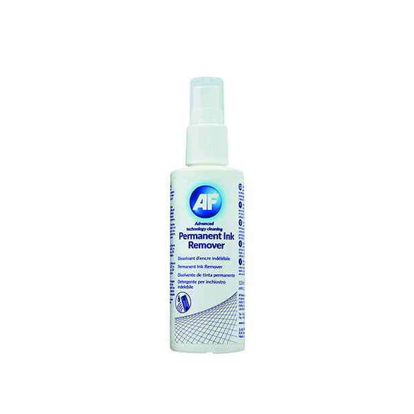 AF Permanent Ink Remover 125ml Pump Spray APIR125