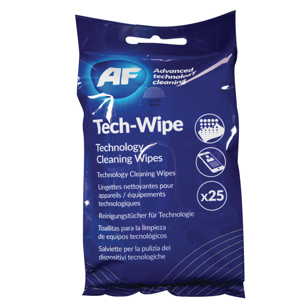 AF Mobile Technology Wipes (25 Pack) AMTW025P