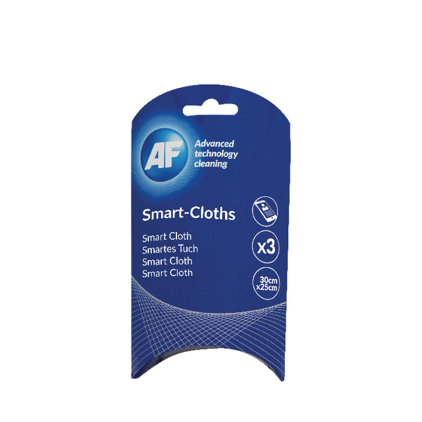 AF Large Smart Cloths (3 Pack) ASMARTCLOTH3