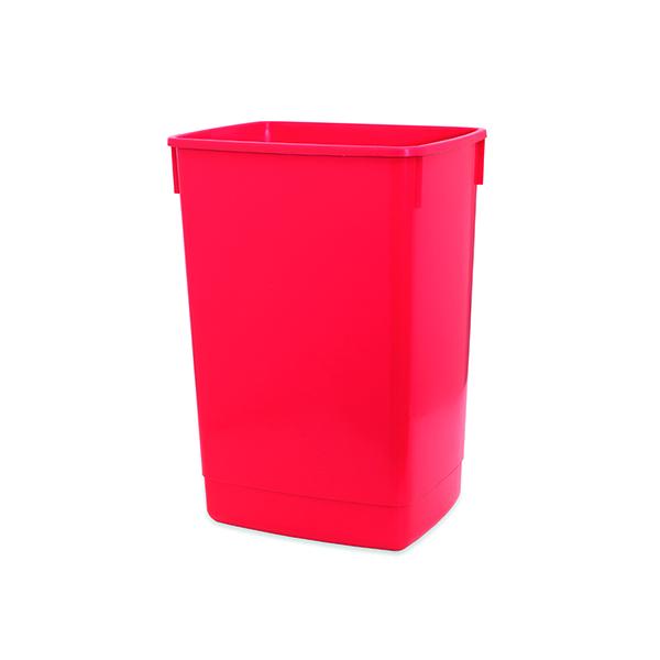 Addis Red 60 Litre Flip Top Bin Base 510899