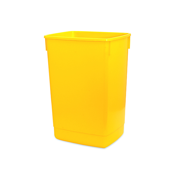 Addis Yellow 60 Litre Flip Top Bin Base 510901