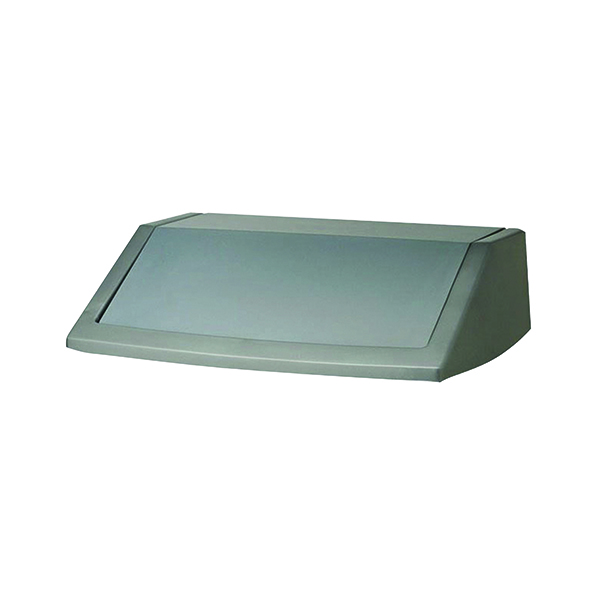 Addis Metallic Grey 60 Litre Flip Top Bin Lid 504895