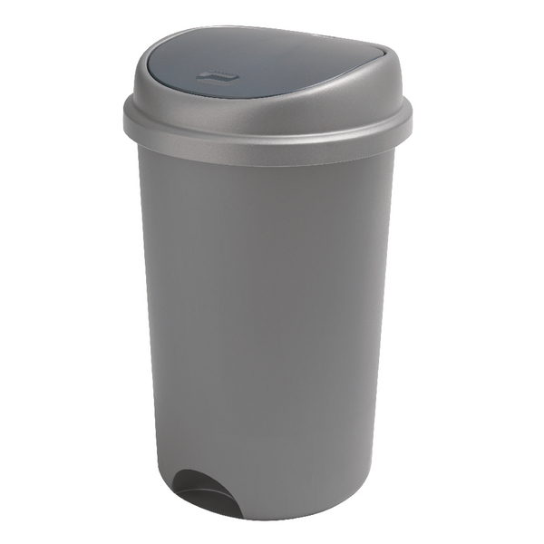 Addis Metallic 50 Litre Press Top Bin Lid 509680