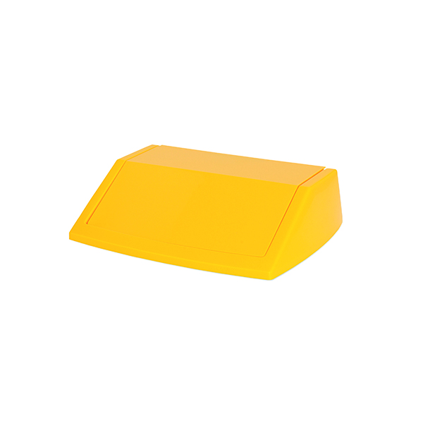Addis Yellow 60 Litre Fliptop Bin Lid 512861