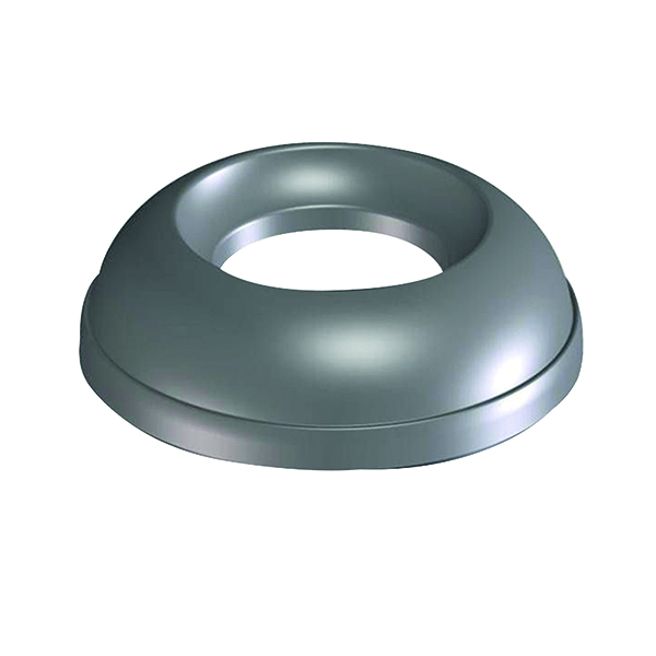 Addis Grey Metallic Lid for Open Top 50 Litre Bin 512875