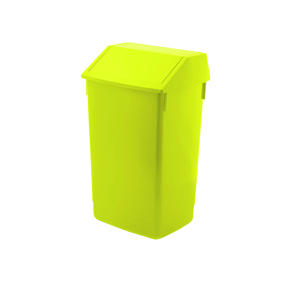 Addis Yellow 60 Litre Fliptop Bin AG813423
