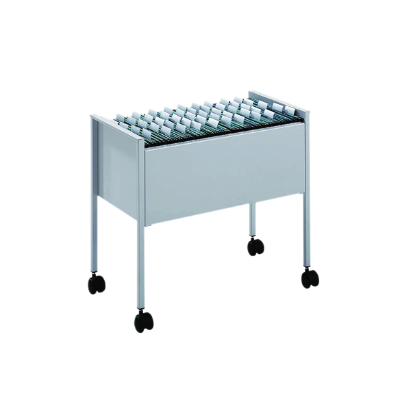 Durable Grey Foolscap Filing Trolley 3097-10