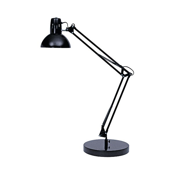 Alba 60W Black Architect Desk Lamp ARCHI N