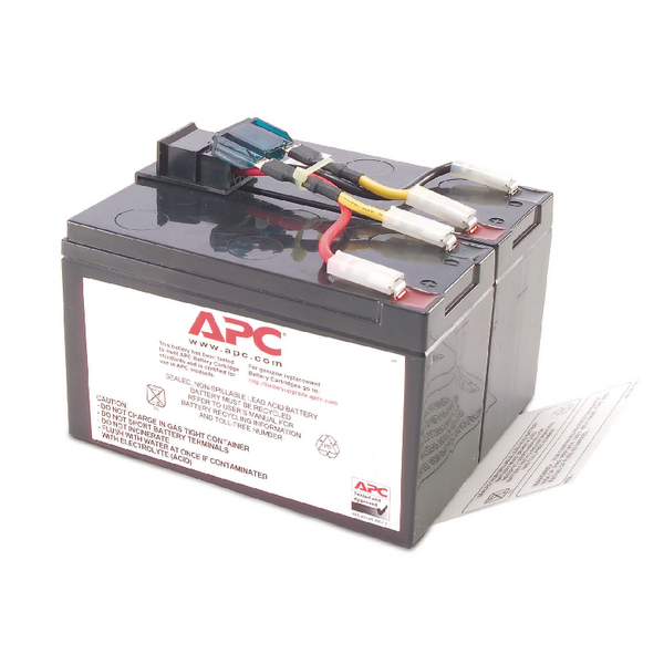 APC UPS Replacement Battery Cartridge #48 (Pack of 1) RBC48