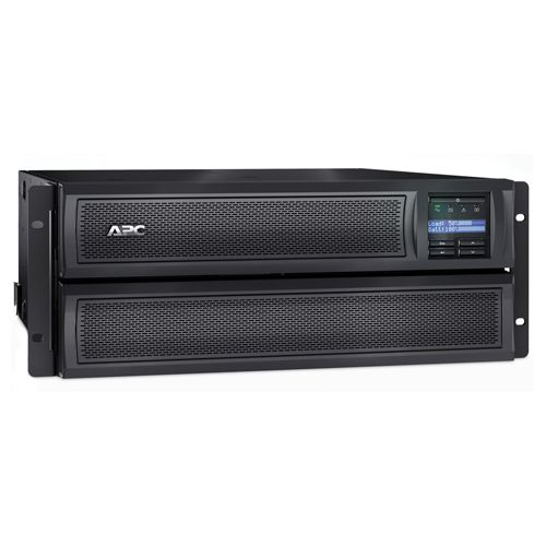 APC Smart-UPS X 3000VA Rack/Tower LCD Uninterruptible Power Supply (Pack of 1) SMX3000HV