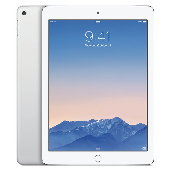 Apple 9.7in iPad Air 2 Wi-Fi + Cellular 128GB Silver MGWM2B/A