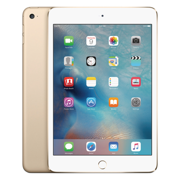 Apple 7.9in iPad Mini 4 Wi-Fi 128GB Gold MK9Q2B/A