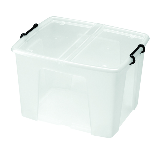 Strata Clear Smart Storage Box 65 Litre HW686