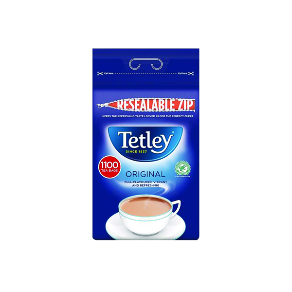 Tetley One Cup Tea Bags Catering Pack (1100 Pack) A01161