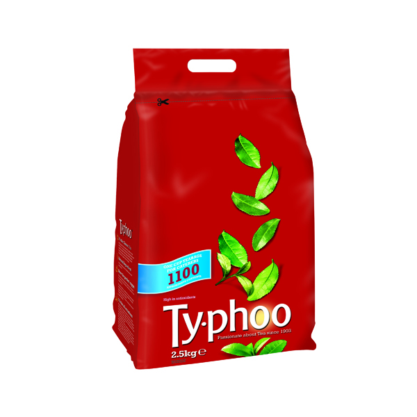 Typhoo One Cup Tea Bags (1100 Pack) A00786