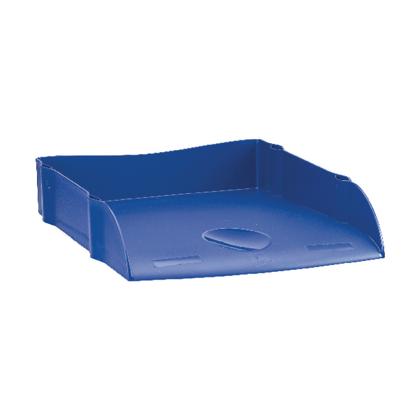 Avery DTR Eco Desktop Letter Tray Blue  DR100BLUE