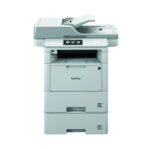 Brother MFC-L6900DWT All in one Mono Laser Printer MFC-L6900DWT