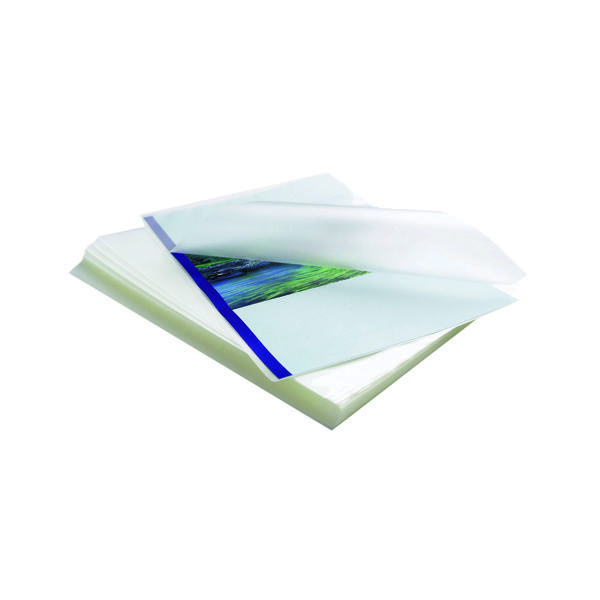 Fellowes Apex Standard A4 Laminating Pouches 200 Micron Clear (100 Pack) 6003301