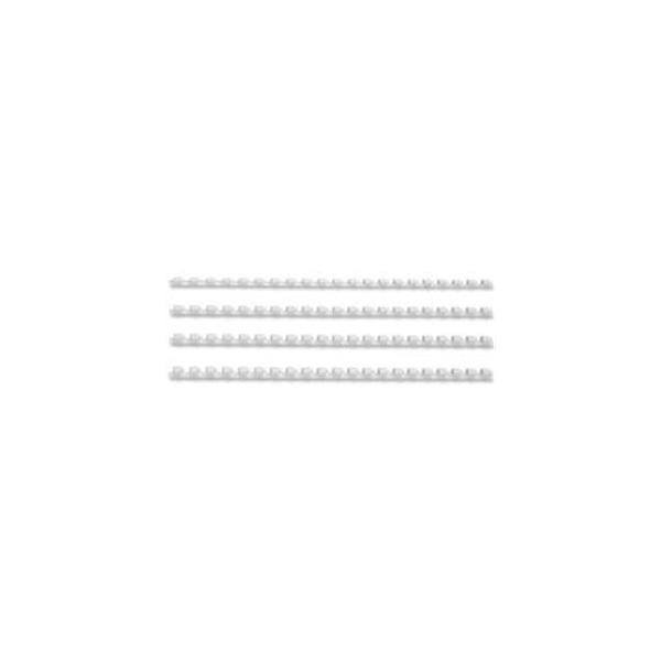 Fellowes Apex 6mm White Plastic Binding Combs (100 Pack) 6200003