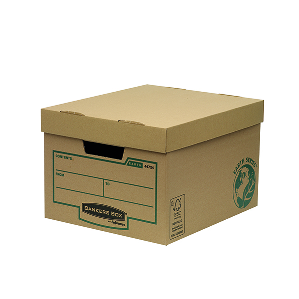 Bankers Box Earth Series Brown Storage Box (10 Pack) 4472401
