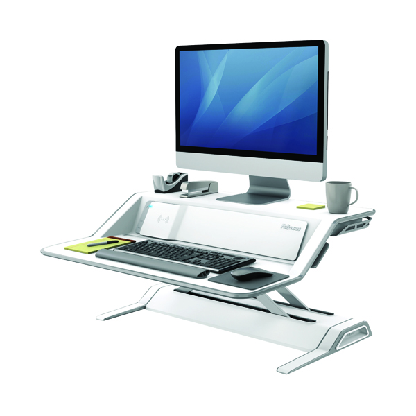 Fellowes Lotus DX Sit-Stand Workstation Black 8080302
