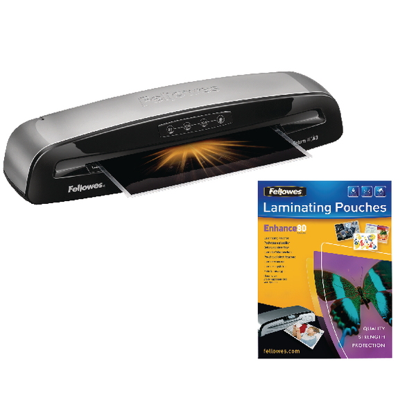Fellowes Saturn 3i A3 Laminator With Free Laminating Pouches (100 Pack) BB810477