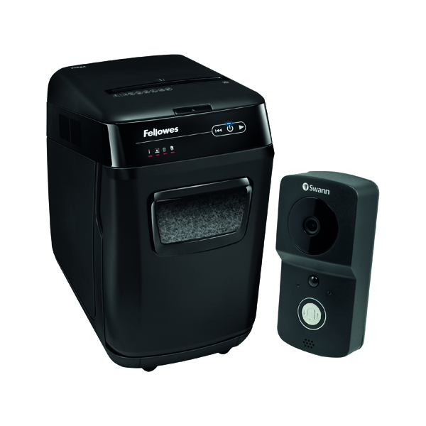 Fellowes Automax 200M Micro Cut Shredder FOC Swann Smart Video Doorbell BB810576