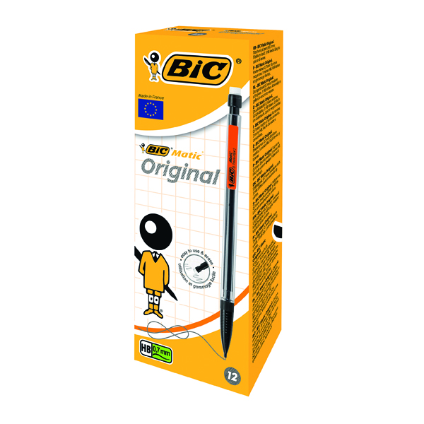 Bic Matic Mechanical 0.7mm Pencil (12 Pack) 820959