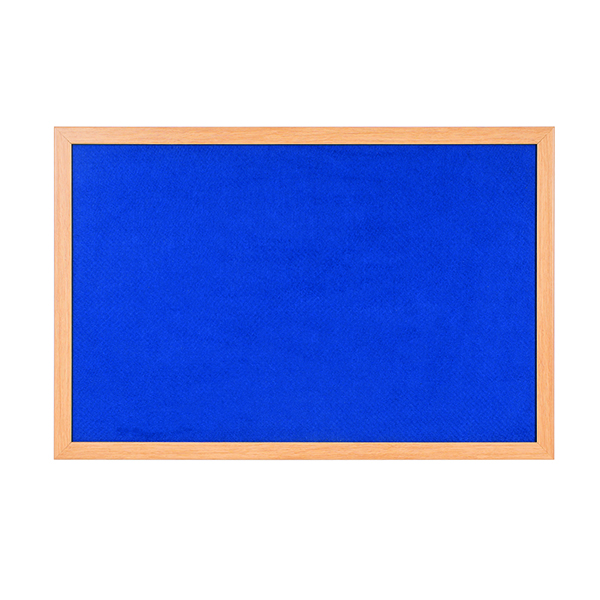 Bi-Office Earth-it 900x600mm Blue Felt Notice Board RFB0743233