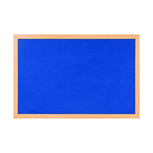 Bi-Office Earth-it 1200x900mm Blue Felt Notice Board RFB1443233