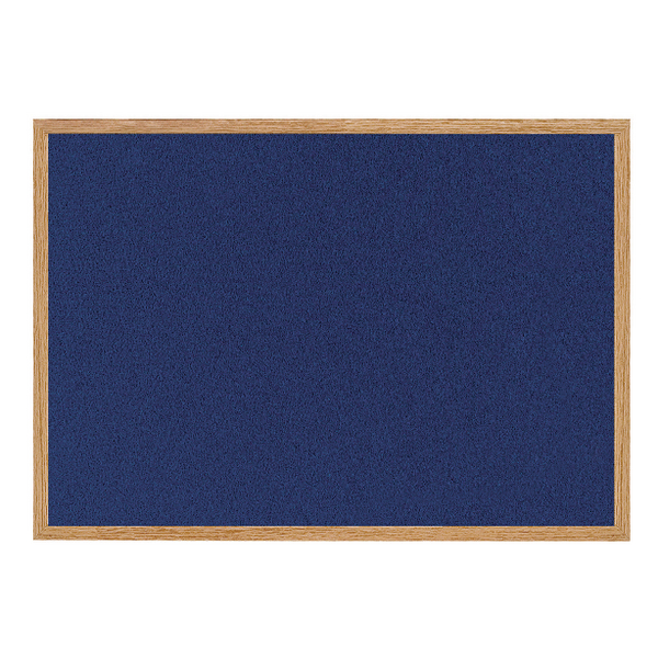 Bi-Office Earth-it 1800x1200mm Blue Felt Notice Board RFB8543233
