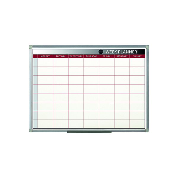 Bi-Office Magnetic 900x600mm Week Planner GA0333170