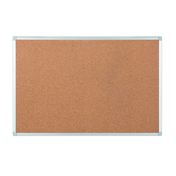 Bi-Office Earth-It Aluminium Frame 900x600mm Cork Board CA031790