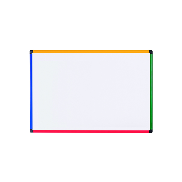 Bi-office Coloured Frame Magnetic Drywipe Board 600x450 MB0407866