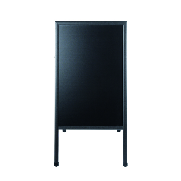 Bi-Office A Frame Chalk Board Black Frame 600 x 1200mm DKT30404042