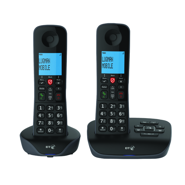 BT Essential DECT TAM Phone Twin 90658
