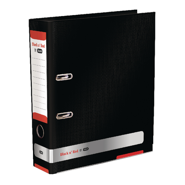 Black n' Red A4 Lever Arch File 70mm 400051488