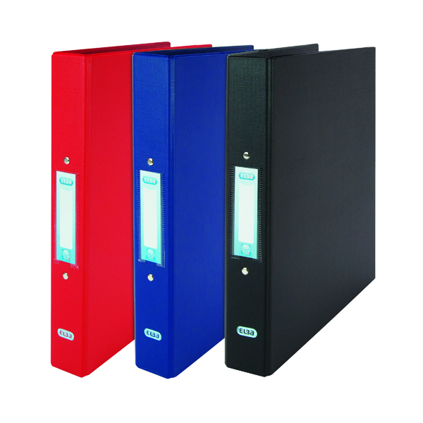 Elba A4 Ring Binder 25 mm 2 x O Ring (10 Pack) 400001507