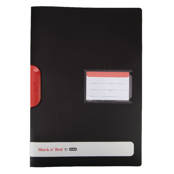 Black n' Red A4 Clip File (5 Pack) 400063613