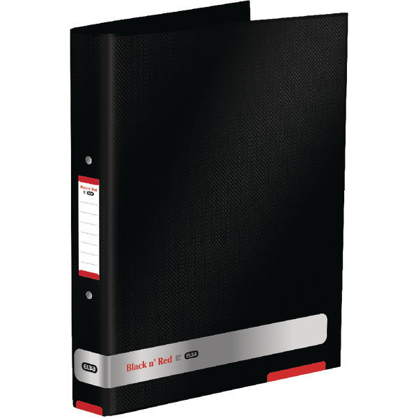 Black n Red 25mm Ring Binder (2 Pack) BX810413