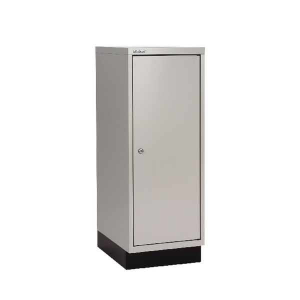 Bisley 1 Door Cupboard W349xD432xH940mm Goose Grey (Pack of 1) BY05288